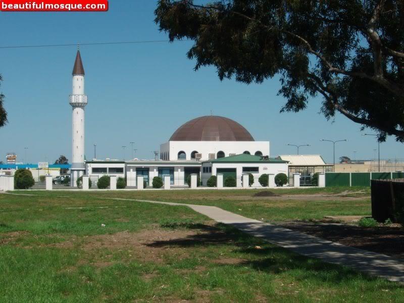 Солнечная мечеть в Мельбурне