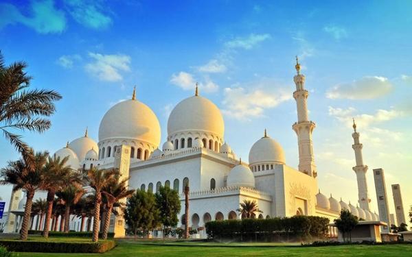 Мечеть Шейха Зайда, город Абу-Даби, эмират Абу-Даби, Объединённые Арабские Эмираты